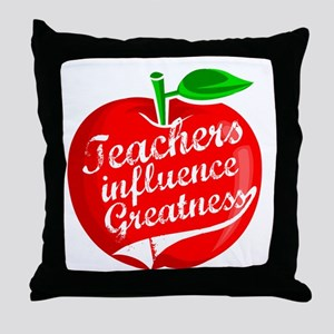 Education Teacher School Throw Pillow